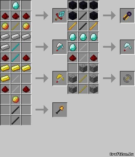 скачать мод на оружие для minecraft 1.9.2