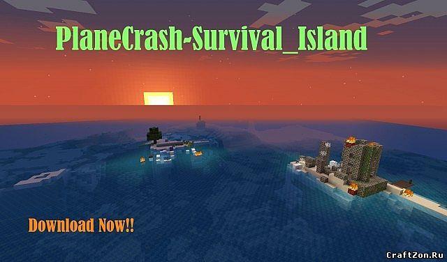 Карта на прохождение - Крушение для Minecraft - Скачать ...