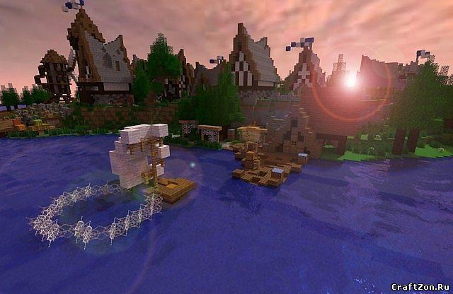 Скачать карту на деревню для Minecraft 1.8 | VK