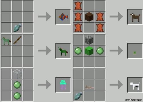 Крафтинг в minecraft | Рецепты крафта в майнкрафт