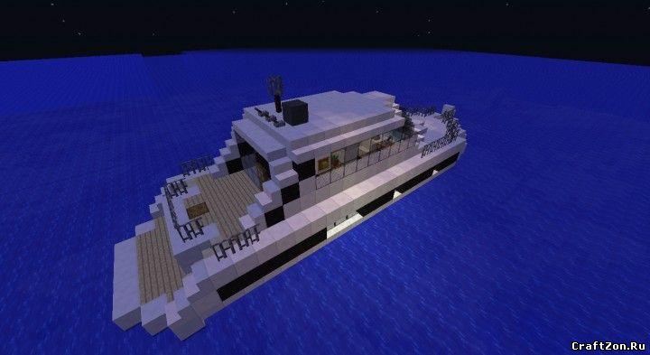 карта яхта майнкрафт #10