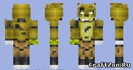 Minecraft cinema 4d foxy the pirate rig discussion minecraft.